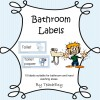 Bathroom Labels Checked