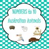 Numbers to 10 Australian Animals Posters