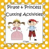 Pirates and Princesses Cutting Activities