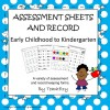 Assessment Sheets and Records 2