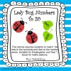 Lady Bug Numbers to 20