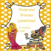 Pirate and Princess Letterhead