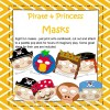 Pirate and Princess Masks