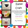 Pompom Easter Craft