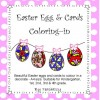 Easter Egg and Card Colouring Activities