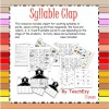 Syllable Clap Lesson: 23 pages