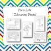 Farm Life Colouring