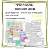 Find-a-Words for Dolch Sight Words