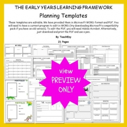 Eylf posters and planning teachezy early childhood resources eylf templates preview only maxwellsz