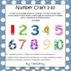 Number Craft Resource 1 to 10