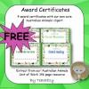 Australian Animal Award Certificates
