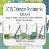 Calendar Bookmarks Classic Print