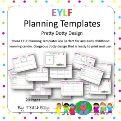Eylf posters and planning teachezy early childhood resources eylf planning templates pretty maxwellsz