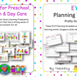 Eylf posters and planning teachezy early childhood resources early years learning framework posters and templates maxwellsz