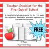First Day of School Planning Resource