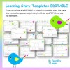 EYLF Learning Stories EDITABLE