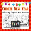 Chinese New Year Colouring and Art Activity