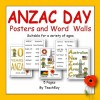 ANZAC Day Posters and Word Walls
