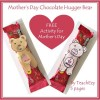 Mother's Day Chocolate Hugger Bear