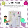 Toilet Pass Classroom Resource
