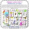 Alphabet Letter Craft Uppercase