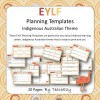 EYLF Planning Templates Indigenous Australia Theme