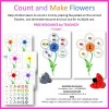 Count and Make Flowers FREE