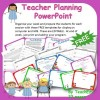Teacher Planning PowerPoint