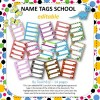 Name Tags School EDITABLE