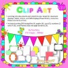 Clip Art borders, frames, bunting and butterflies