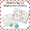 Christmas Find and Colour and I Spy Fun